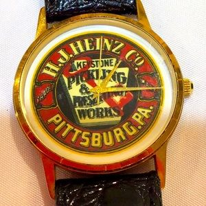 H J Heinz Co Pittsburgh Pa advertising watch